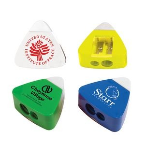 The Triad Eraser & Sharpener (Spot Color)