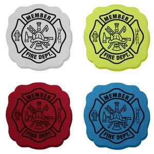 Die Cut Maltese Cross Eraser