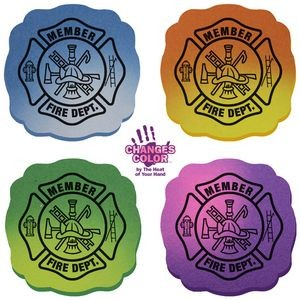Mood Maltese Cross Die Cut Erasers