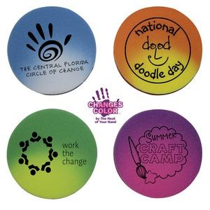Mood Circle Die Cut Erasers