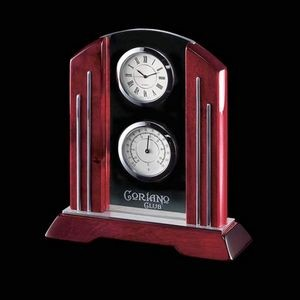 Regency Clock (2 Face) - Rosewood 7½""
